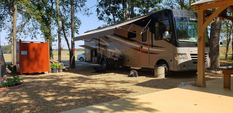 20 ft awning.  Outdoor T.V.. Coachmen Mirada 2016