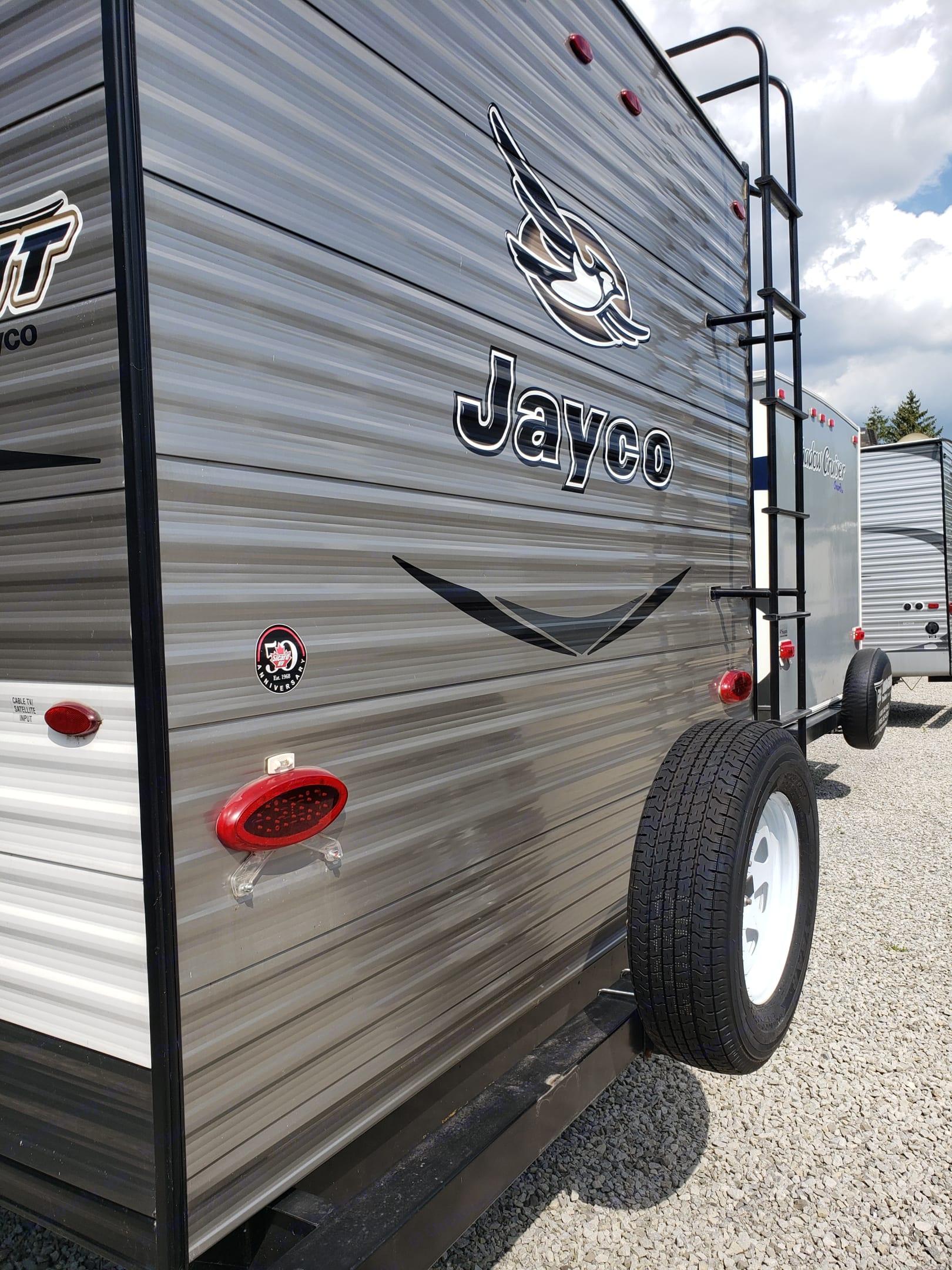 Exterior (Back) - Spare Tire. Jayco Jay Flight 2017