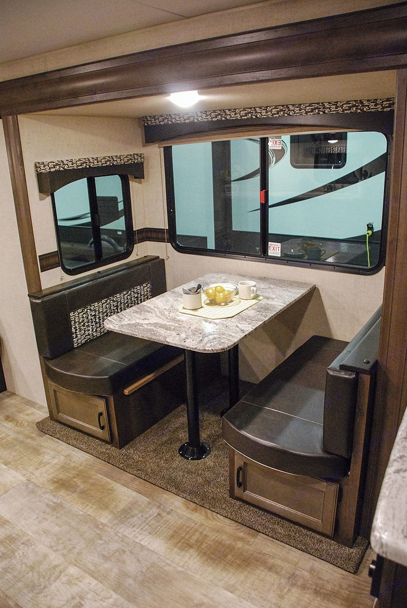 Dinette seating for four. K-Z Manufacturing Other 2017