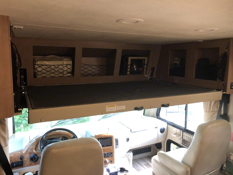 Loft bed. Thor Motor Coach A.C.E 2018