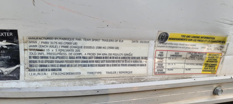 Team spirit Enclosed 24-foot 2019