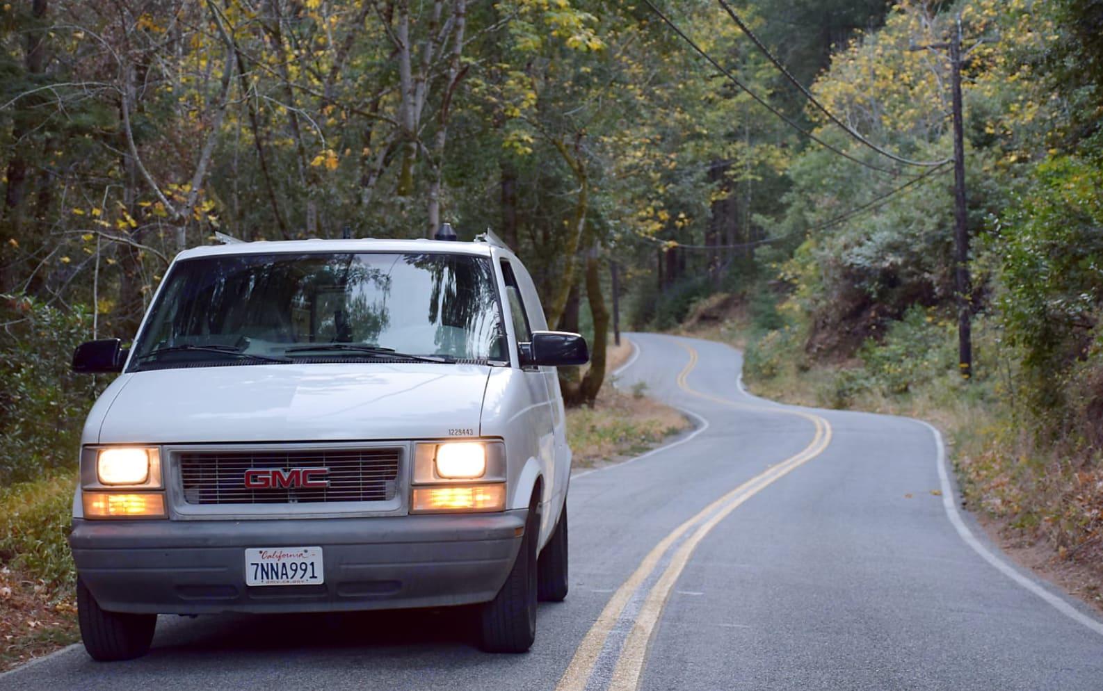 This sweet little van is ready for off the beaten path adventures!. Gmc Safari 2000