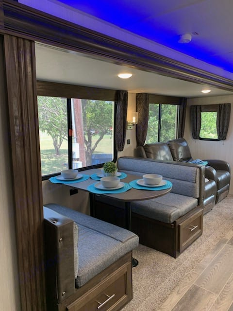 Dining area. Forest River Cherokee 2019