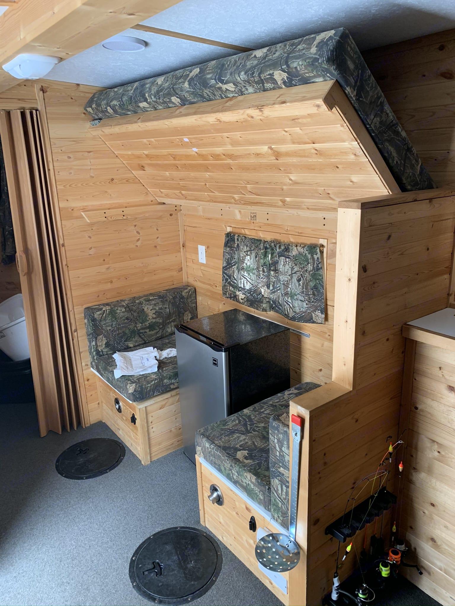 Ice Castle Fish Houses Millie Lacs 2014