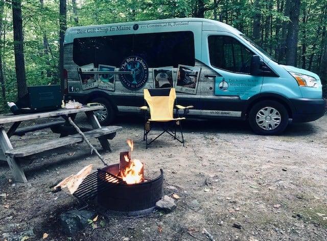Baxter State Park. Ford Custom Transit 2016
