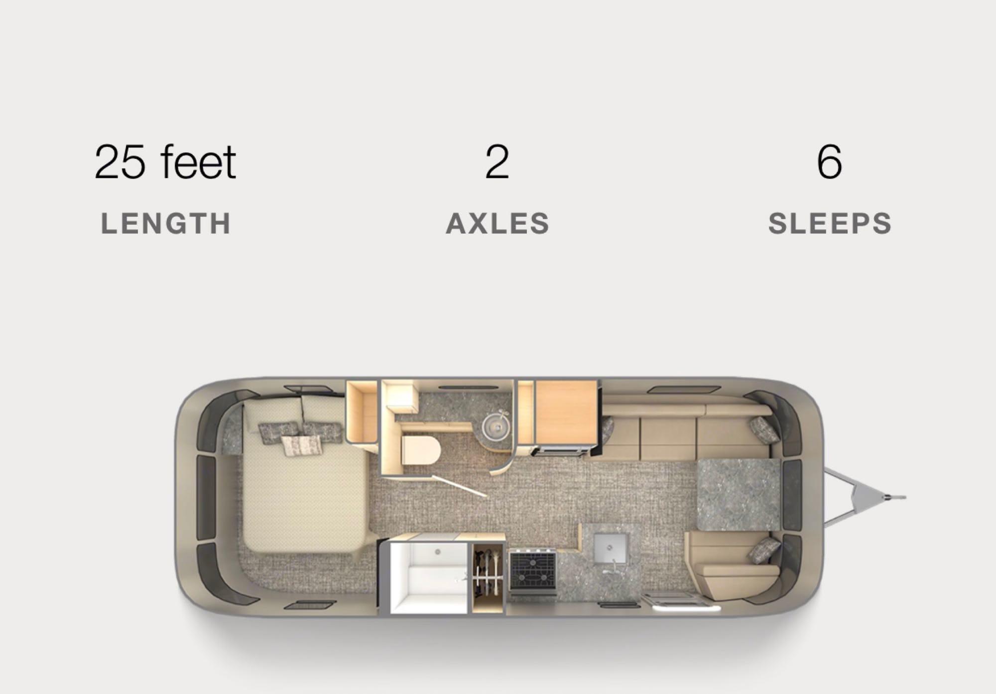Interior. Airstream Flying Cloud 2016