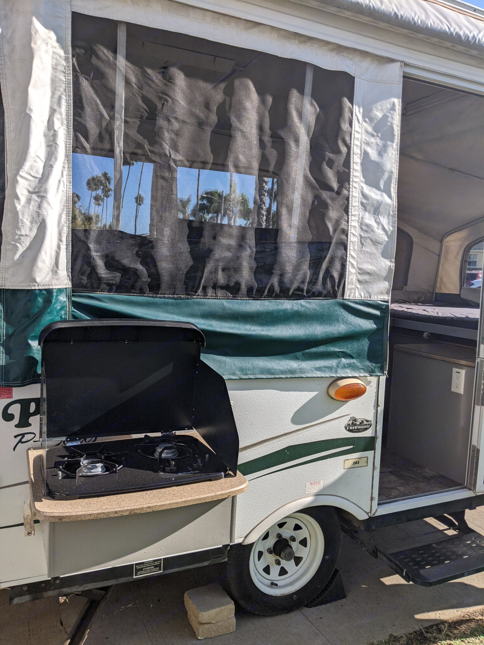Outdoor cooking made safe and easy!. Palomino Pony 2011
