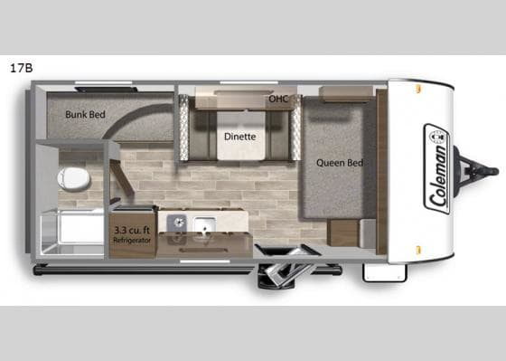Perfect layout for small families!. Dutchmen Other 2020