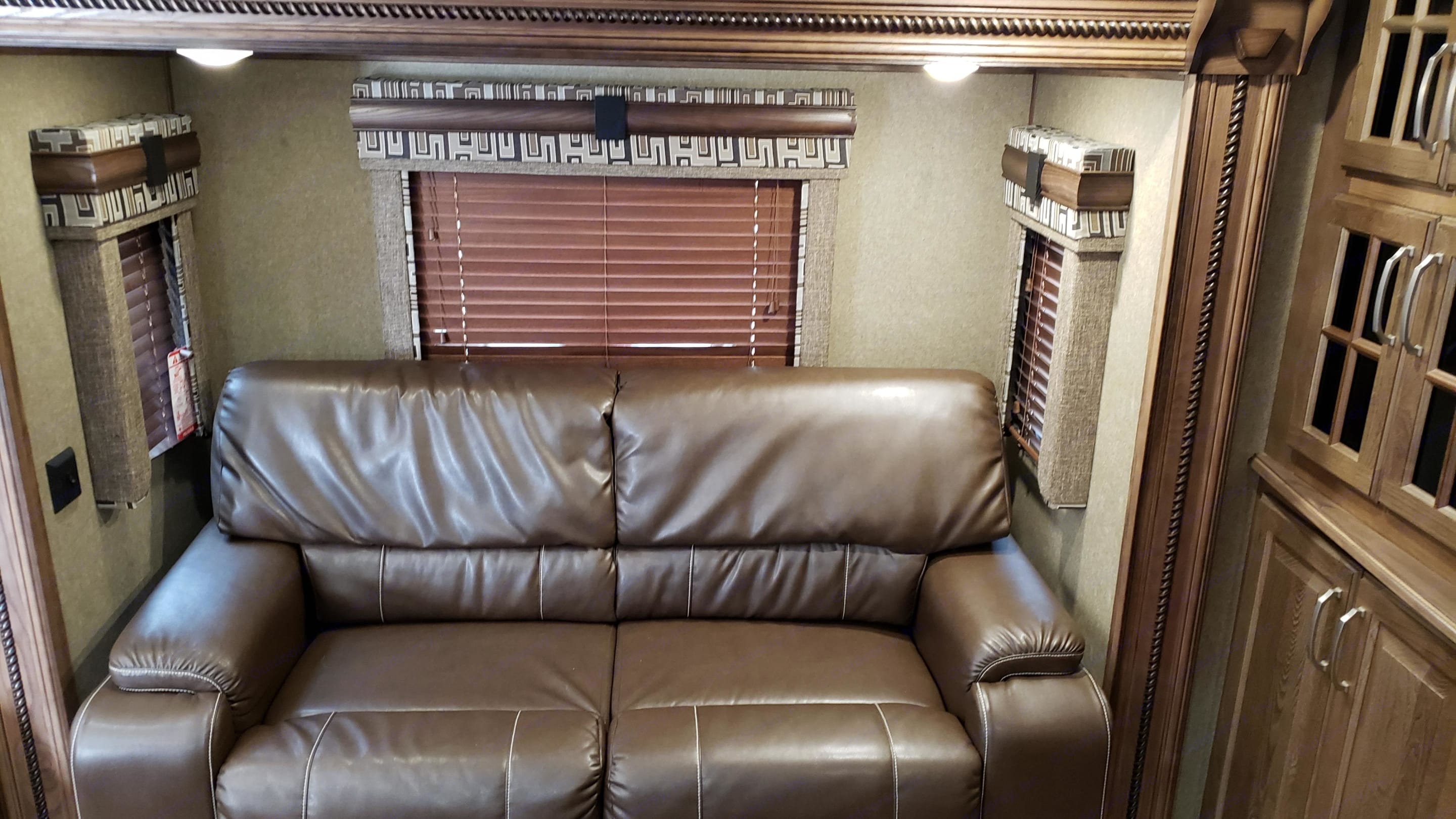 Comfortable Sofa Bed for two.... Keystone Alpine 2017