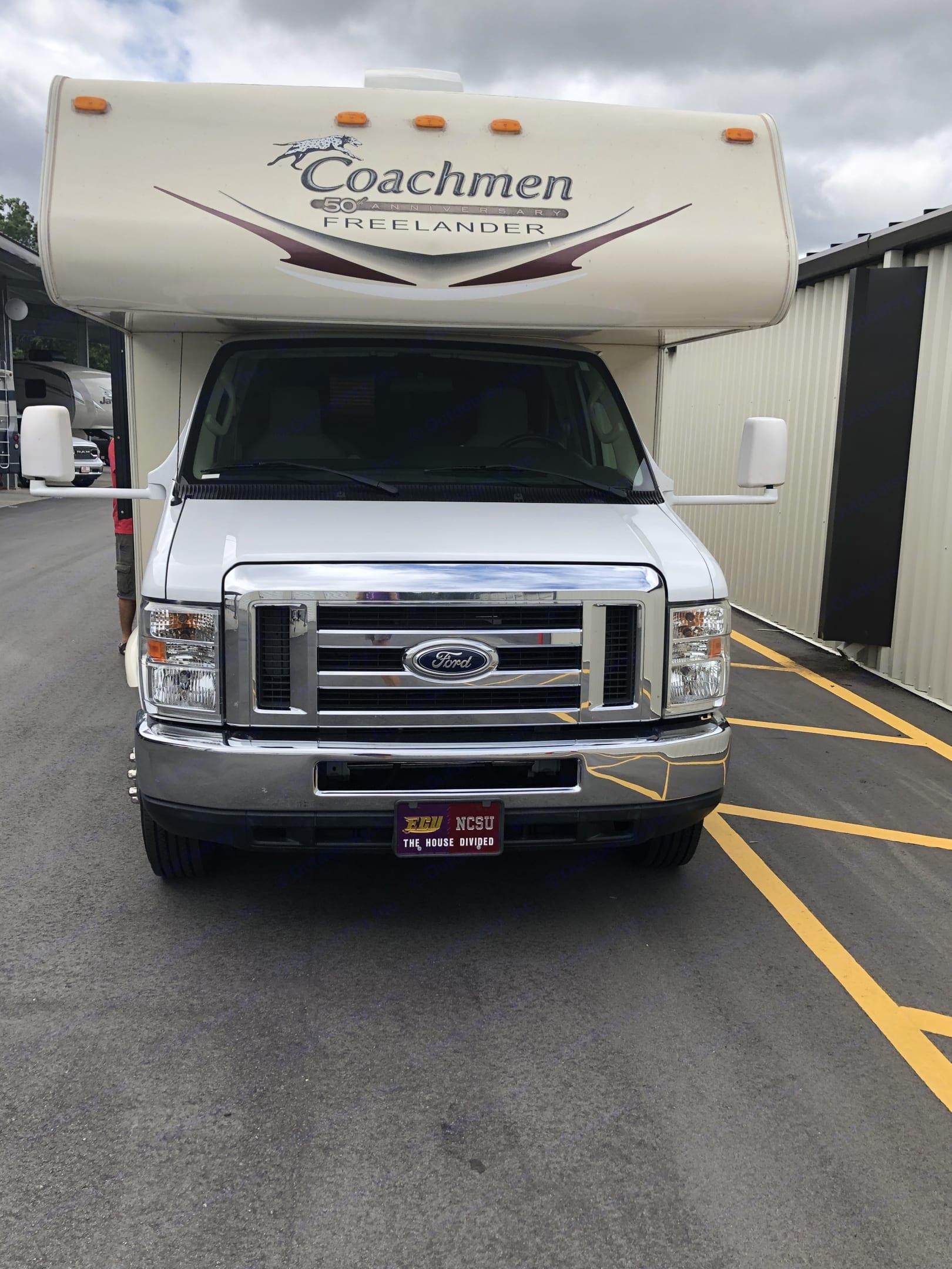 This engine will take you places!. Coachmen Freelander 2015