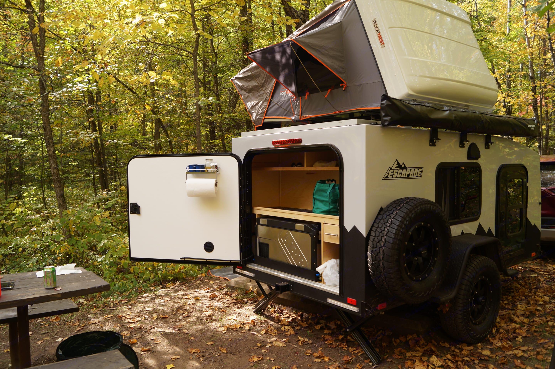 Kitchen view. Custom Camper 2020