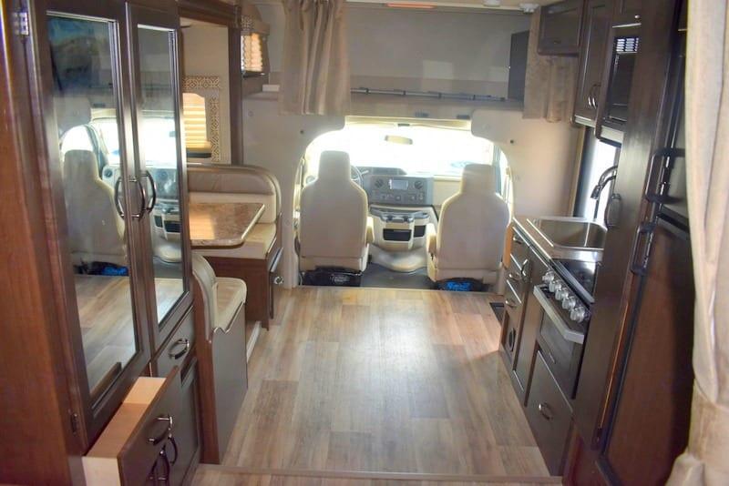 Very roomy. Thor Motor Coach Freedom Elite 24HE 2019