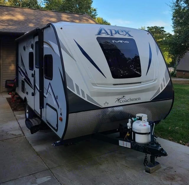 12 foot electric awning.. Coachmen Apex 2019