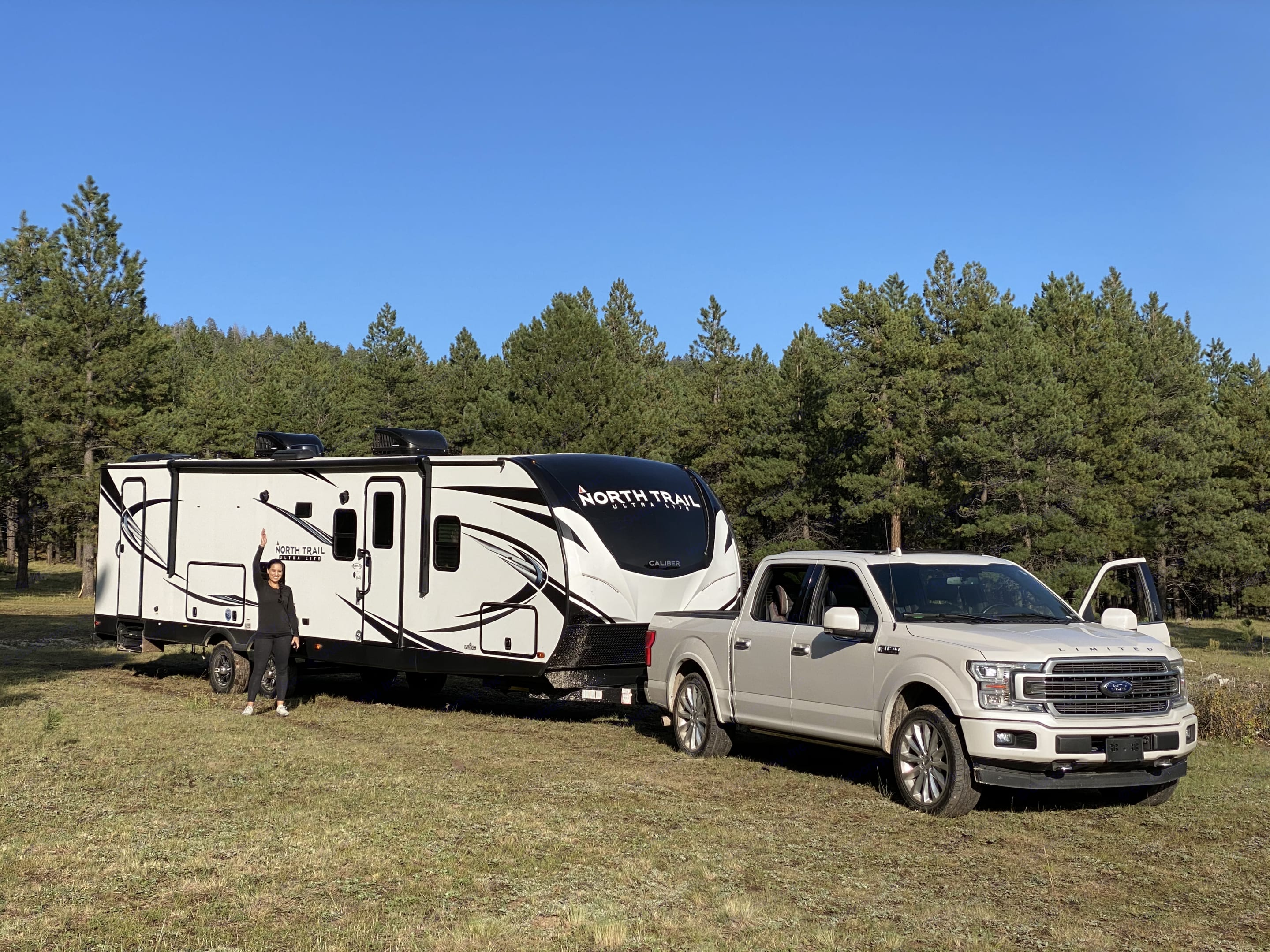 Maiden Voyage: Boon-docking in northern NM. Heartland North Trail Caliber 2021