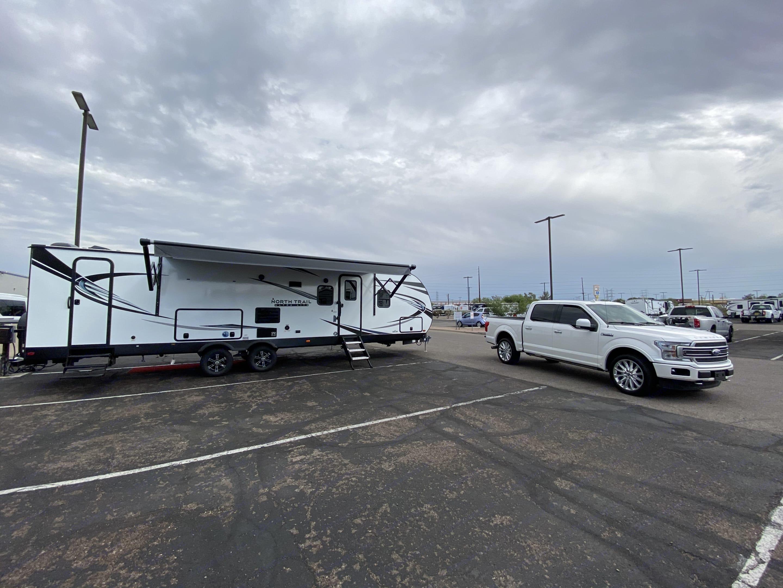 The day we took Caliber home!. Heartland North Trail Caliber 2021
