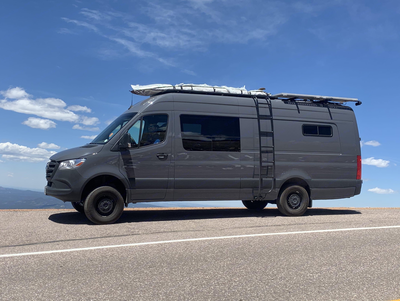 Exterior Driver's Side. Mercedes-Benz Sprinter 2019