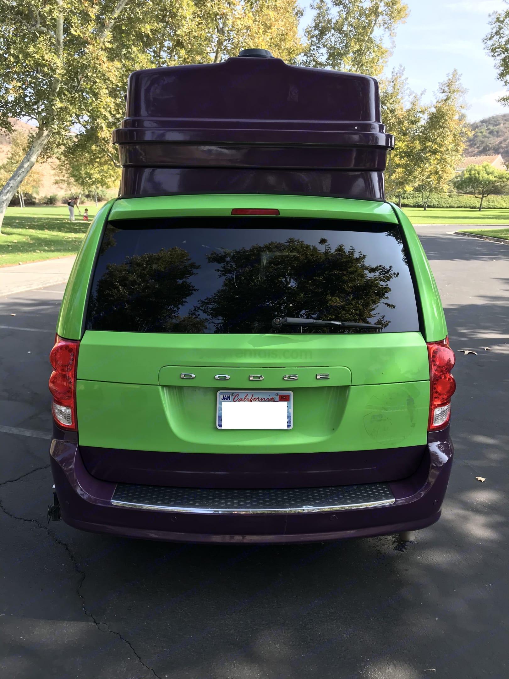 Exterior (side). Dodge Other 2015