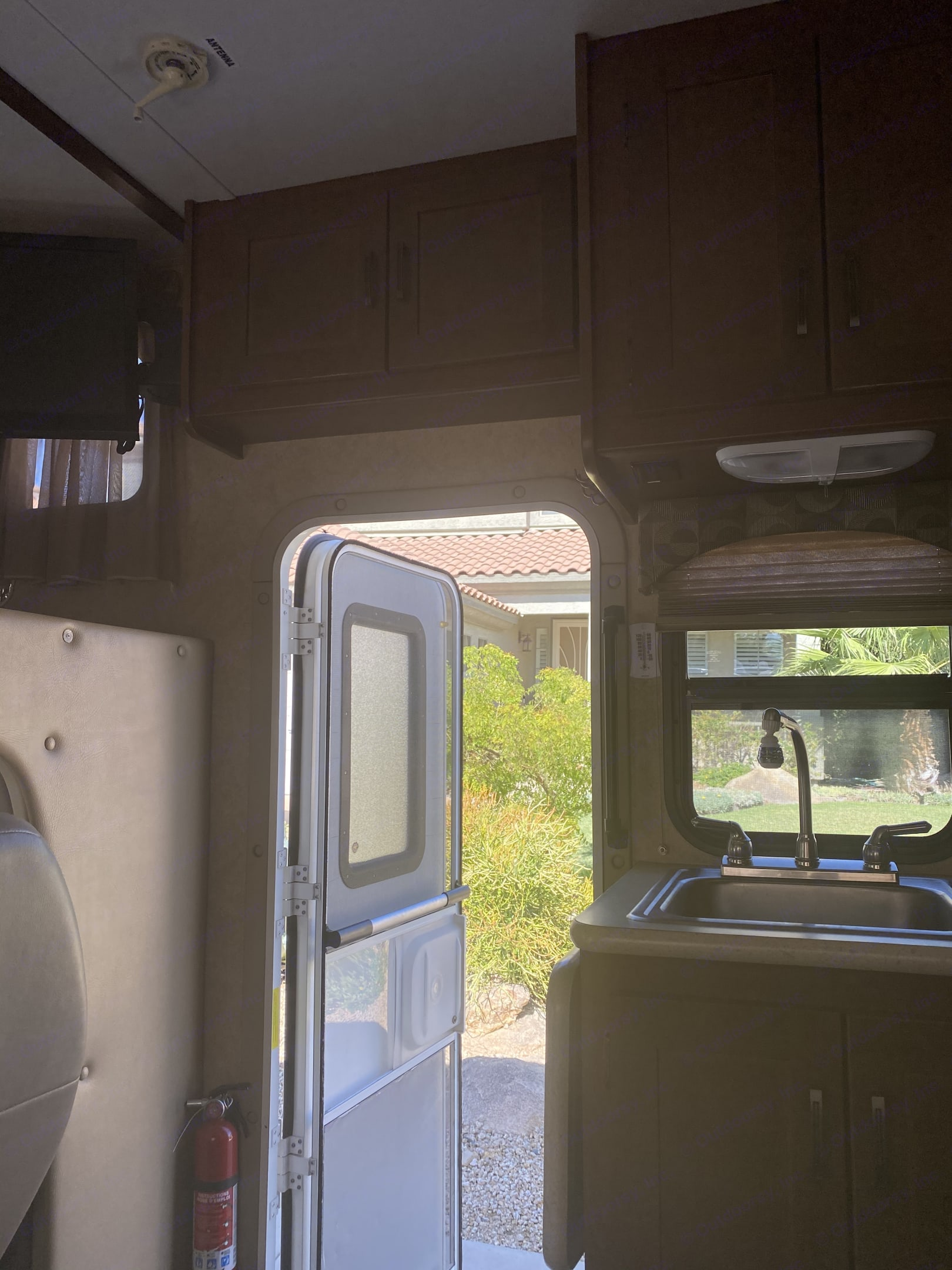 Easy access to outside. Forest River forester 2013