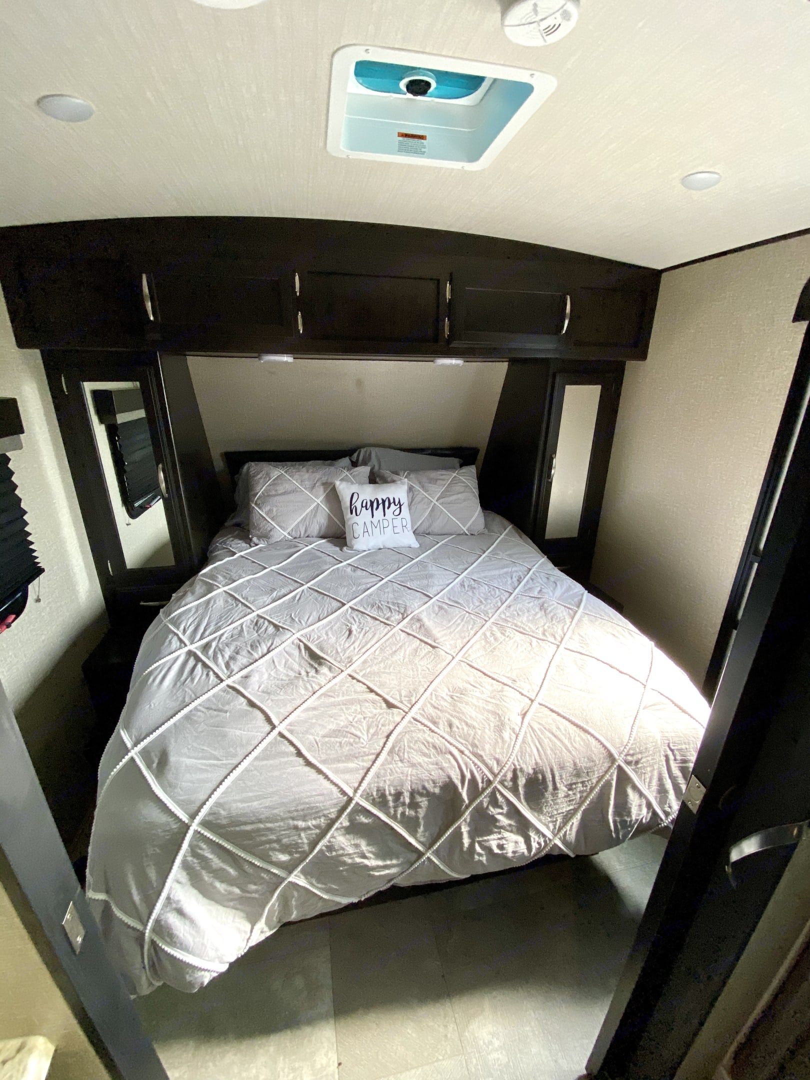 Queen master bedroom with storage around and underneath bed.. Grand Design Other 2019