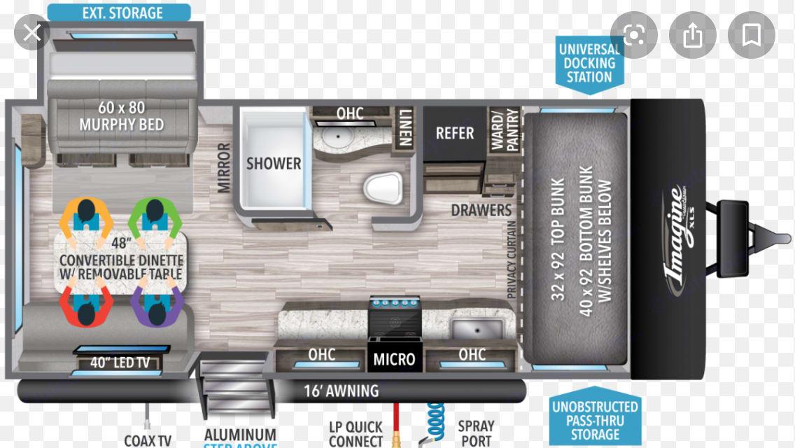 Floor plan. Grand Design Other 2020