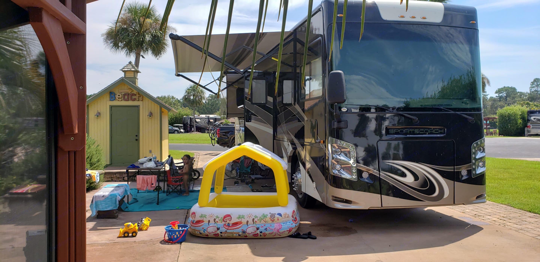 Rig set up. Coachmen Sportscoach SRS BH 366 2020