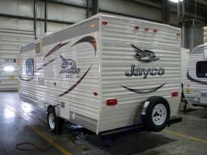 Exterior left side. Jayco Jay Flight SLX Series M-195RB 2015