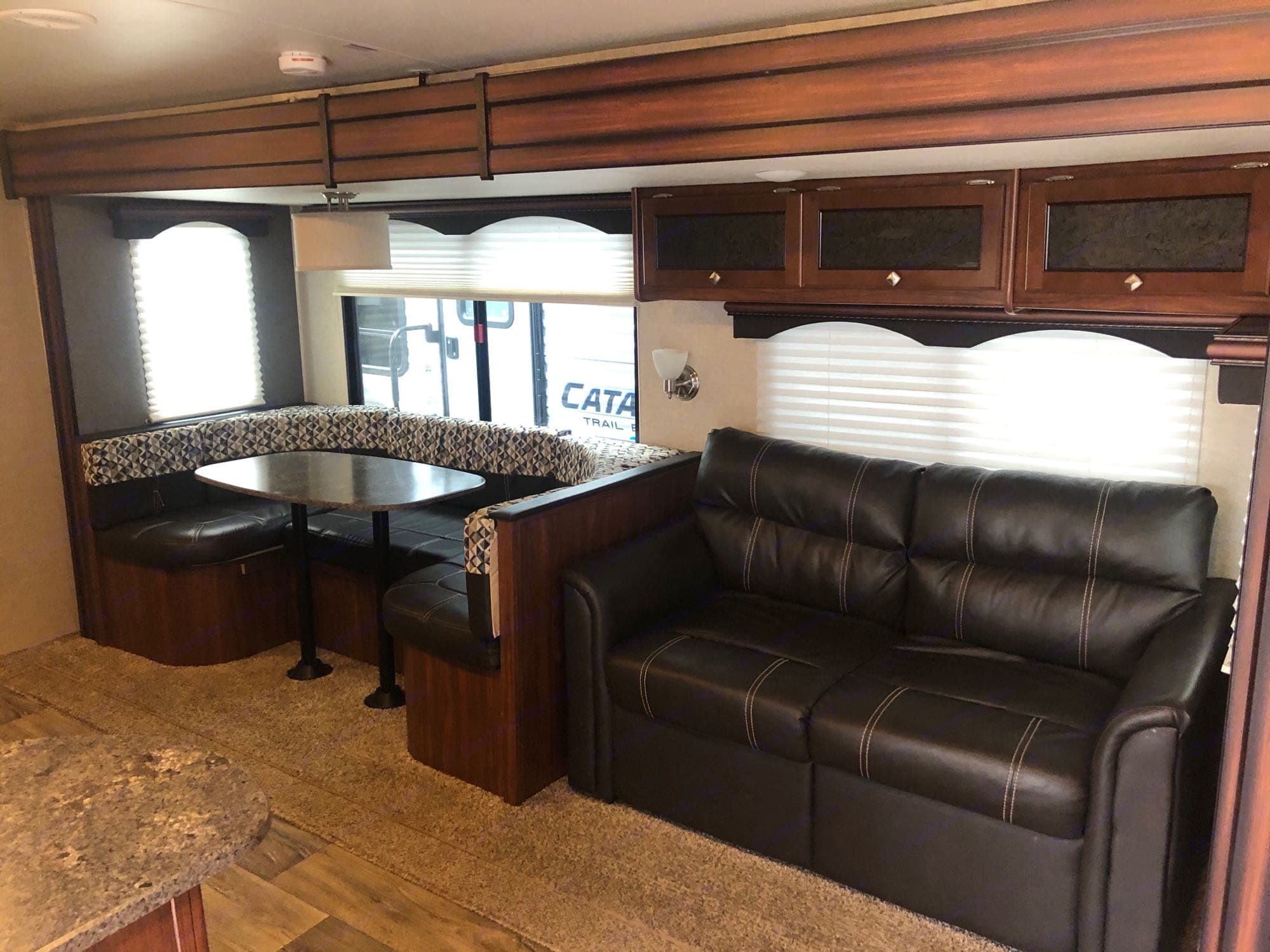 living room and dinette. Heartland M29 2017