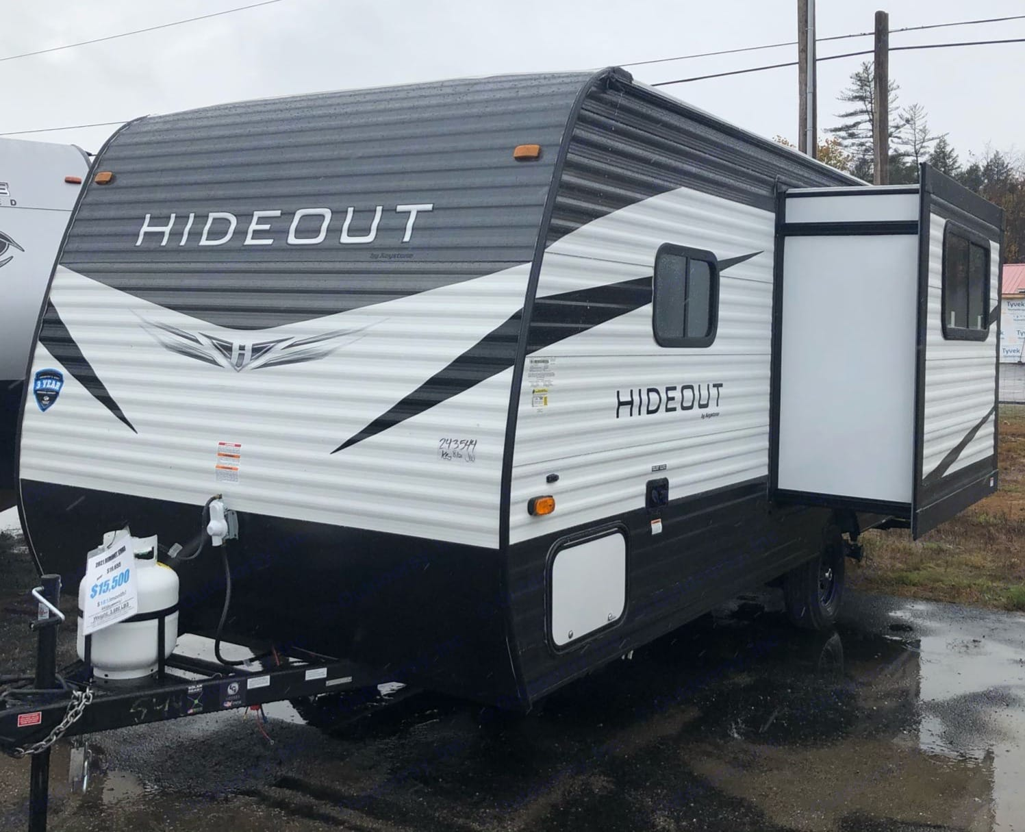 Exterior with slide out.. Keystone Hideout 179LHS 2021