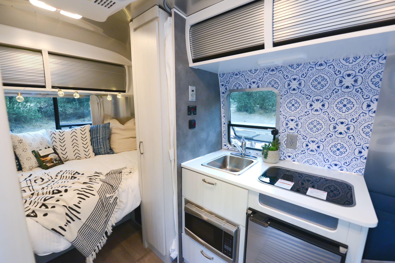 Beautifully decorated 2020 Airstream. Airstream Bambi 2020