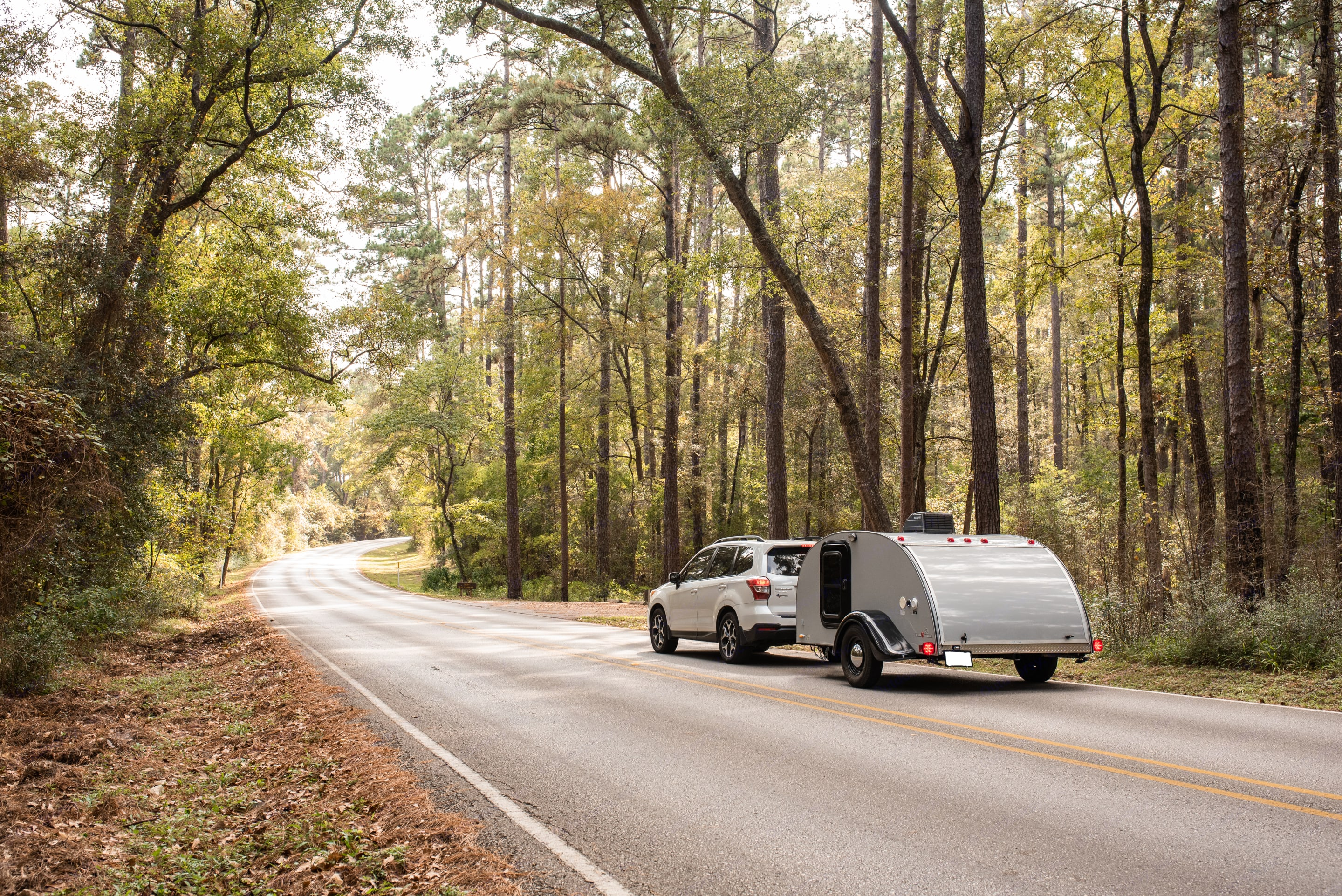 Light weight easy to tow. Little Guy Silver Shadow 2013