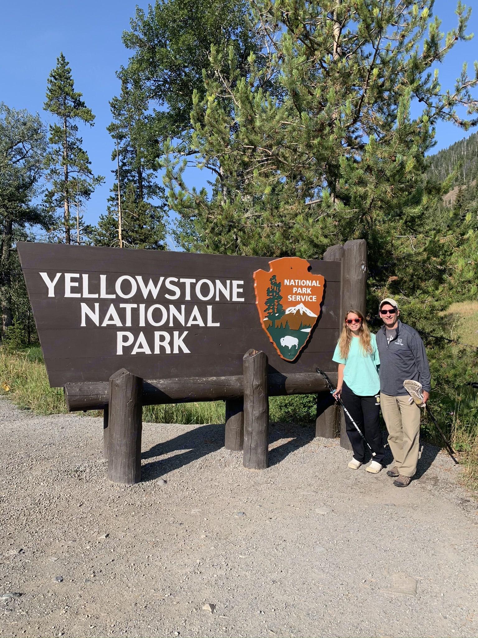 Recent Yellowstone trip. Coachmen Leprechaun 2014