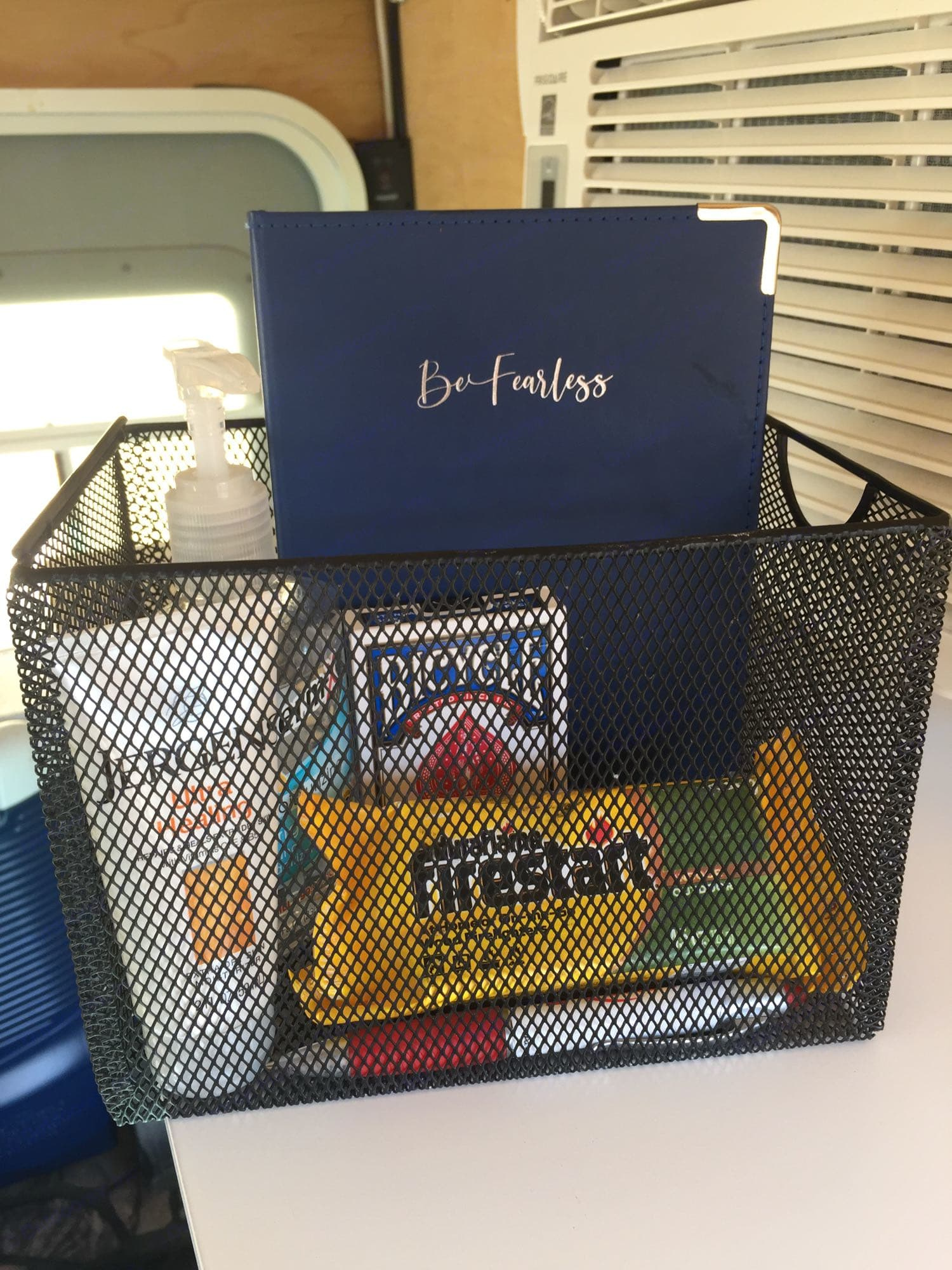 Items for our guests. Please write an entry in our guest journal!. Towable Sleeper 2018
