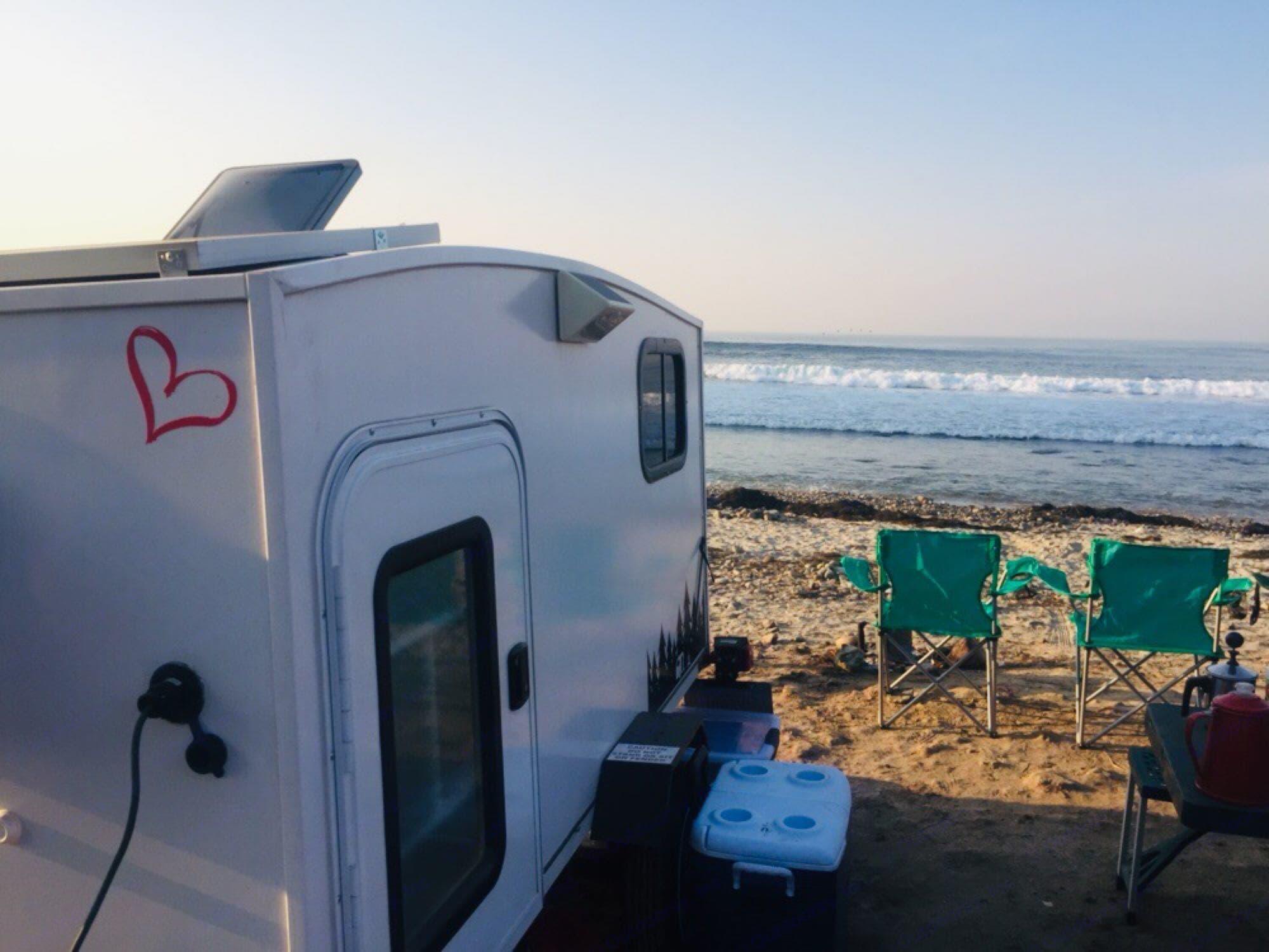 Pull to the sea. Towable Sleeper 2018