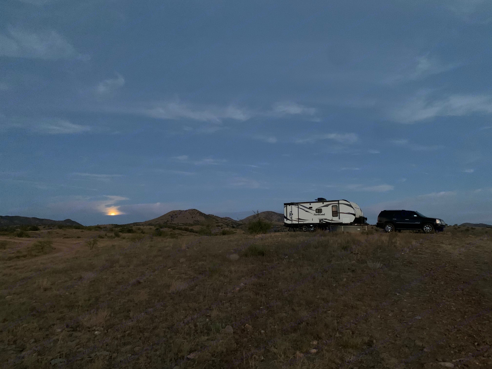Boondocking next to Kentucky Camp in the Santa Rita's. Pacific Coachworks Other 2016