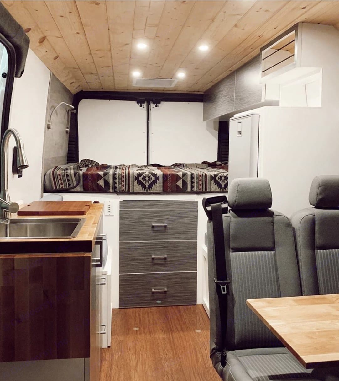 Thoughtfully designed and meticulously crafted; Minn of the Mountains is a glamping masterpiece!. Dodge Promaster 2019