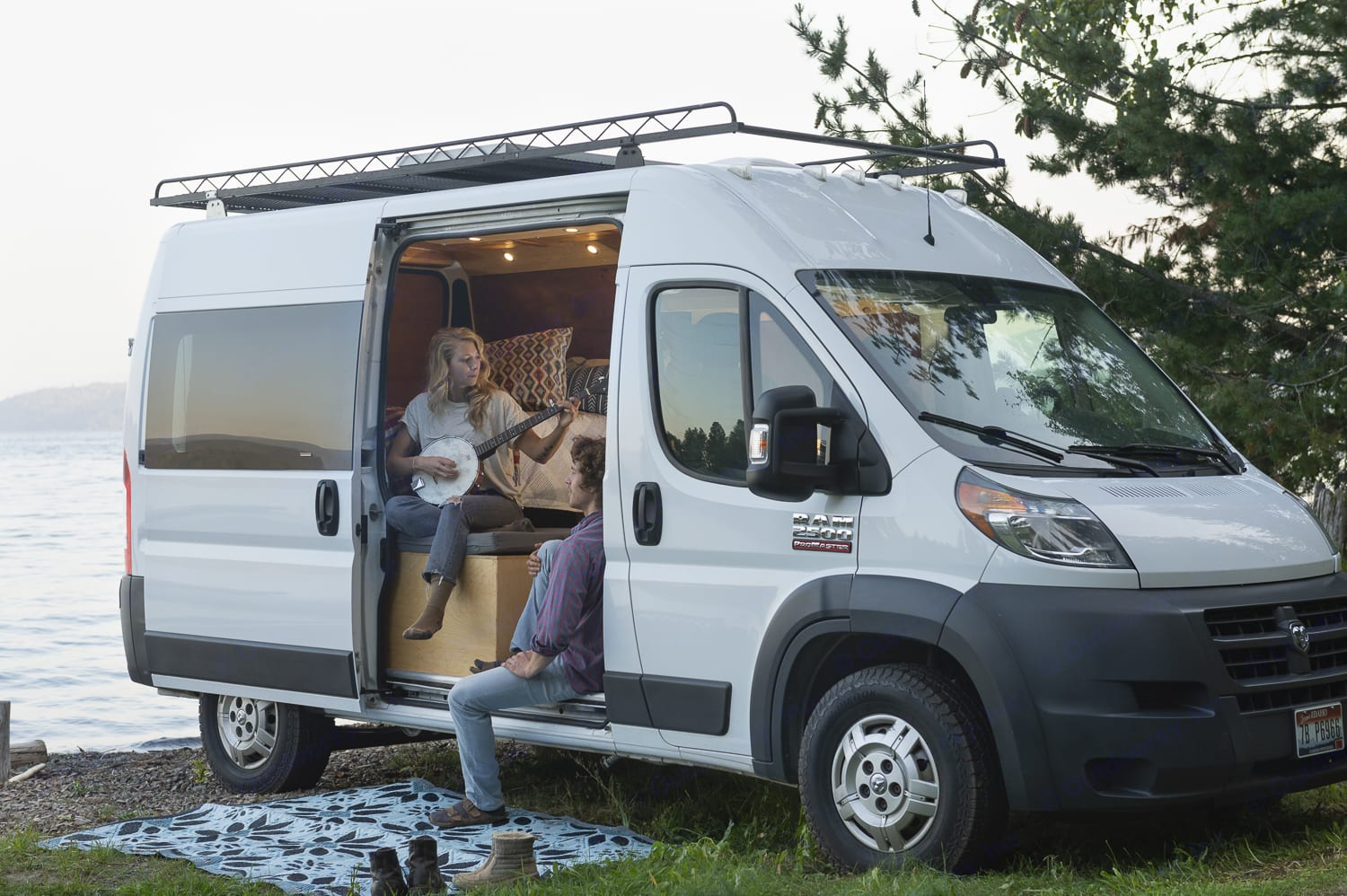 Hayduke is the perfect adventure rig for a party of two!. Dodge ProMaster 2014