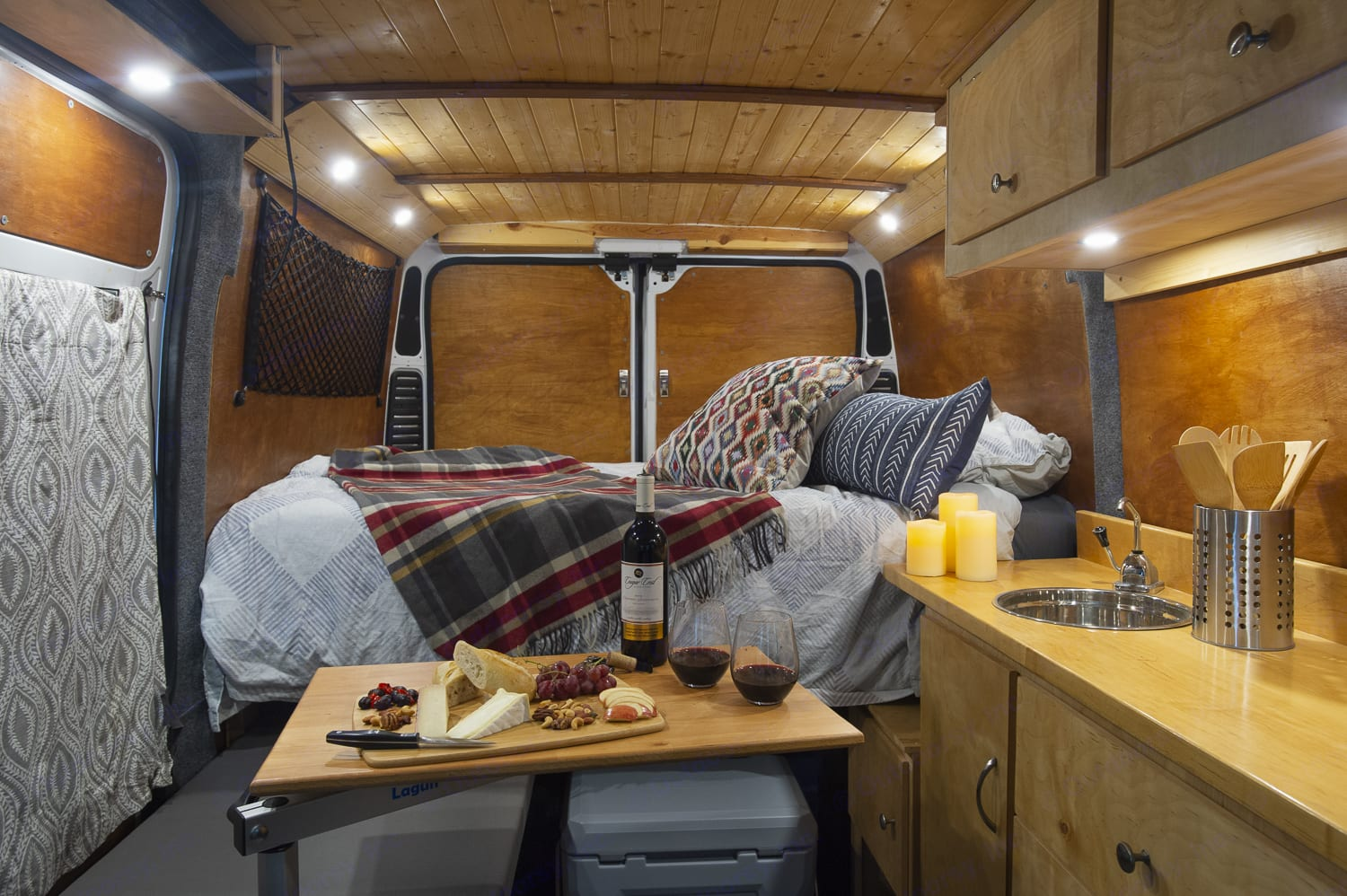 Thoughtfully designed and lovingly crafted interior.. Dodge ProMaster 2014