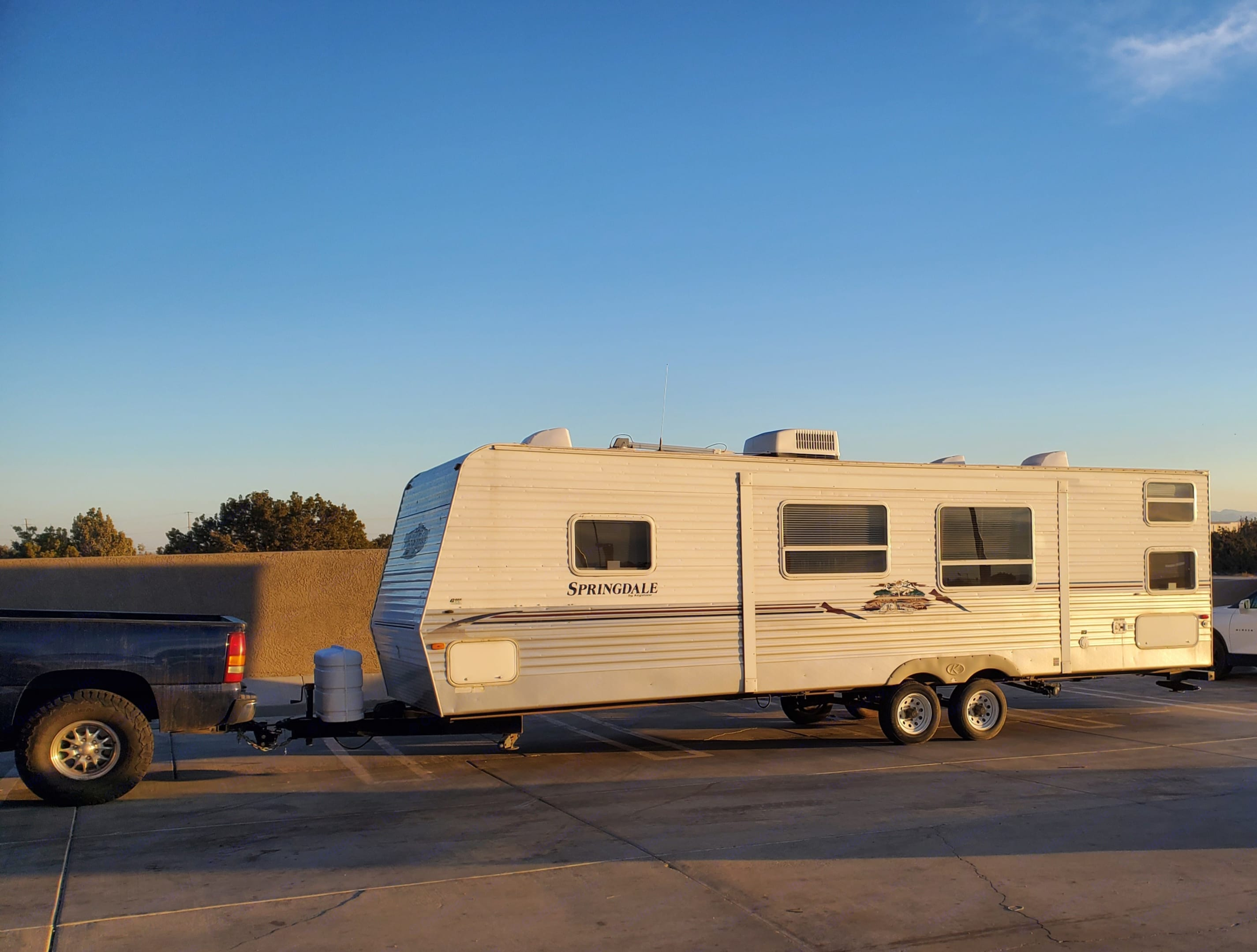 29' - 6810 Dry Weight. Springdale 2007