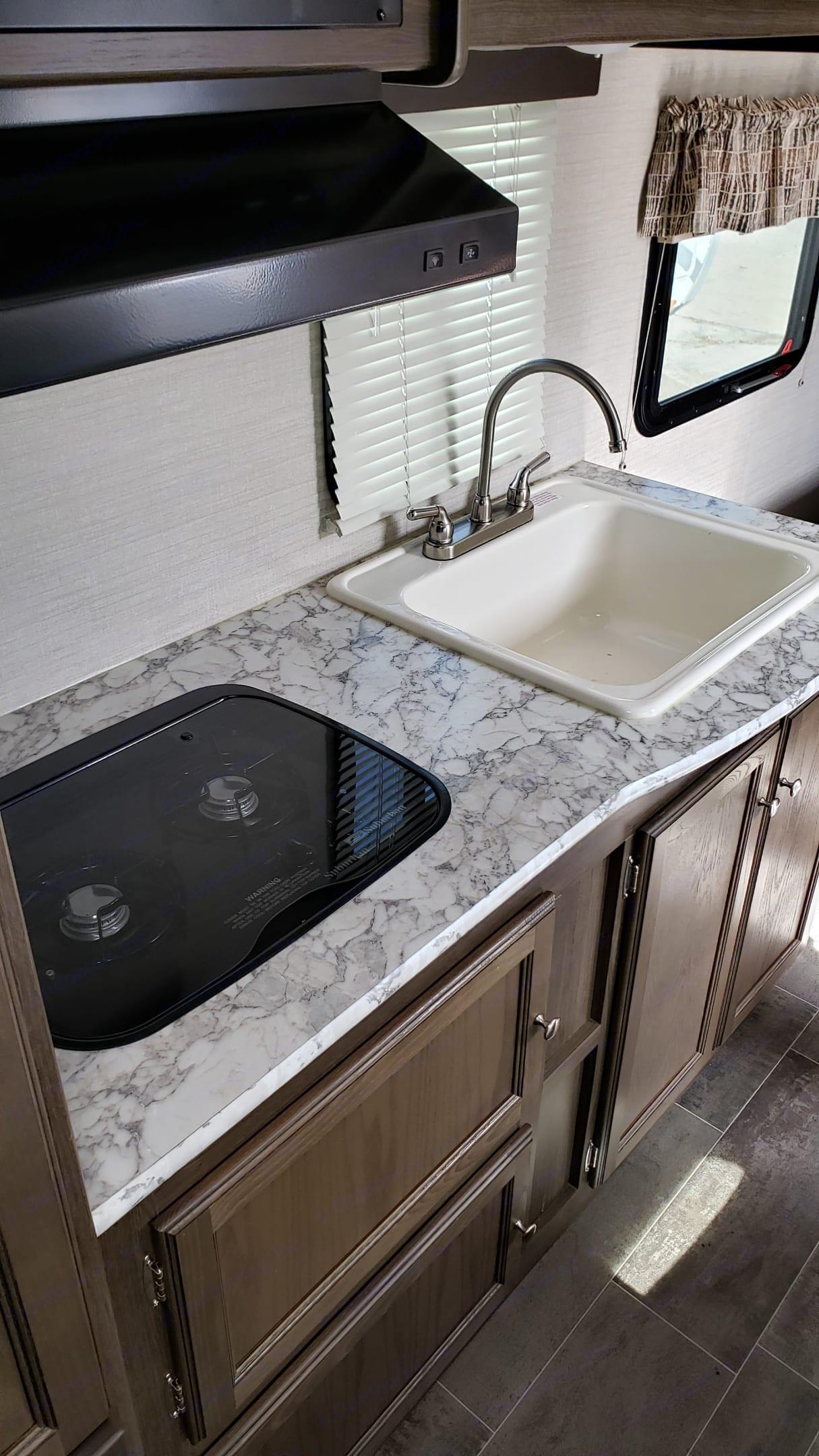 Deep sink for cleaning. Keystone Bullet 2018