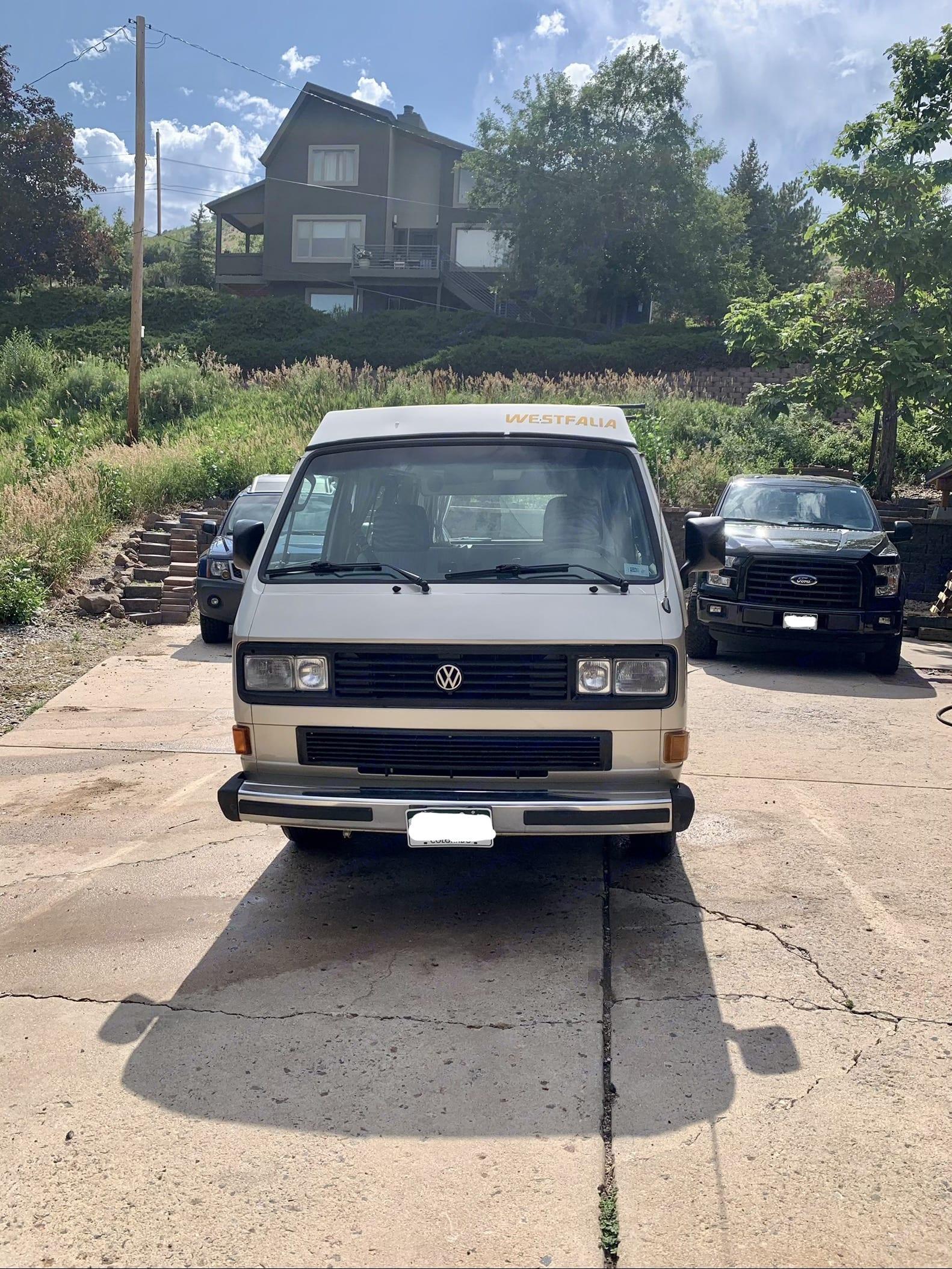 exterior (front). Volkswagen Westfalia 1987
