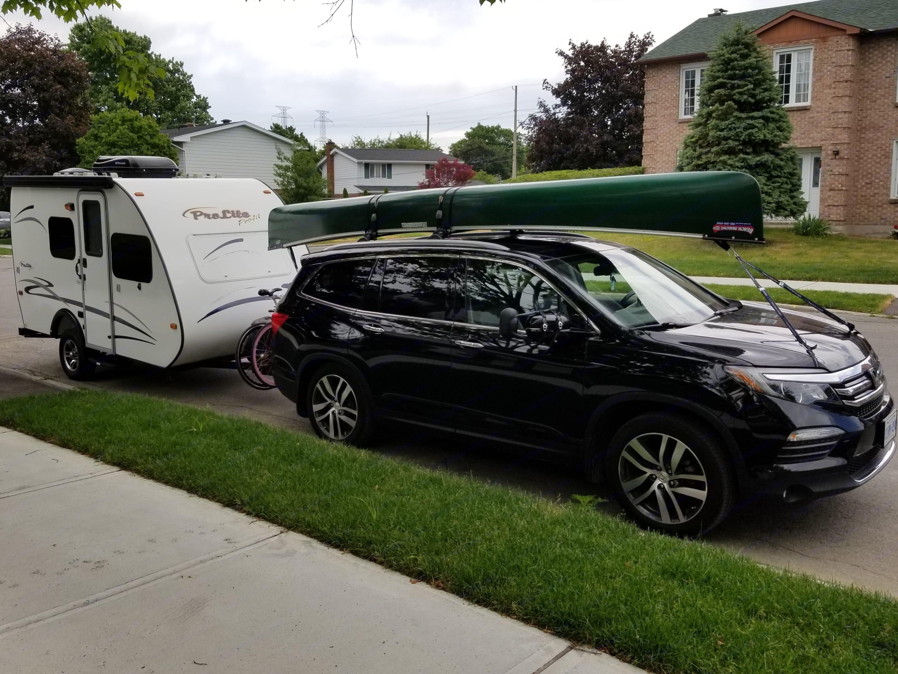 Towable with an SUV or Minivan. Prolight Rv Profil 14 2015