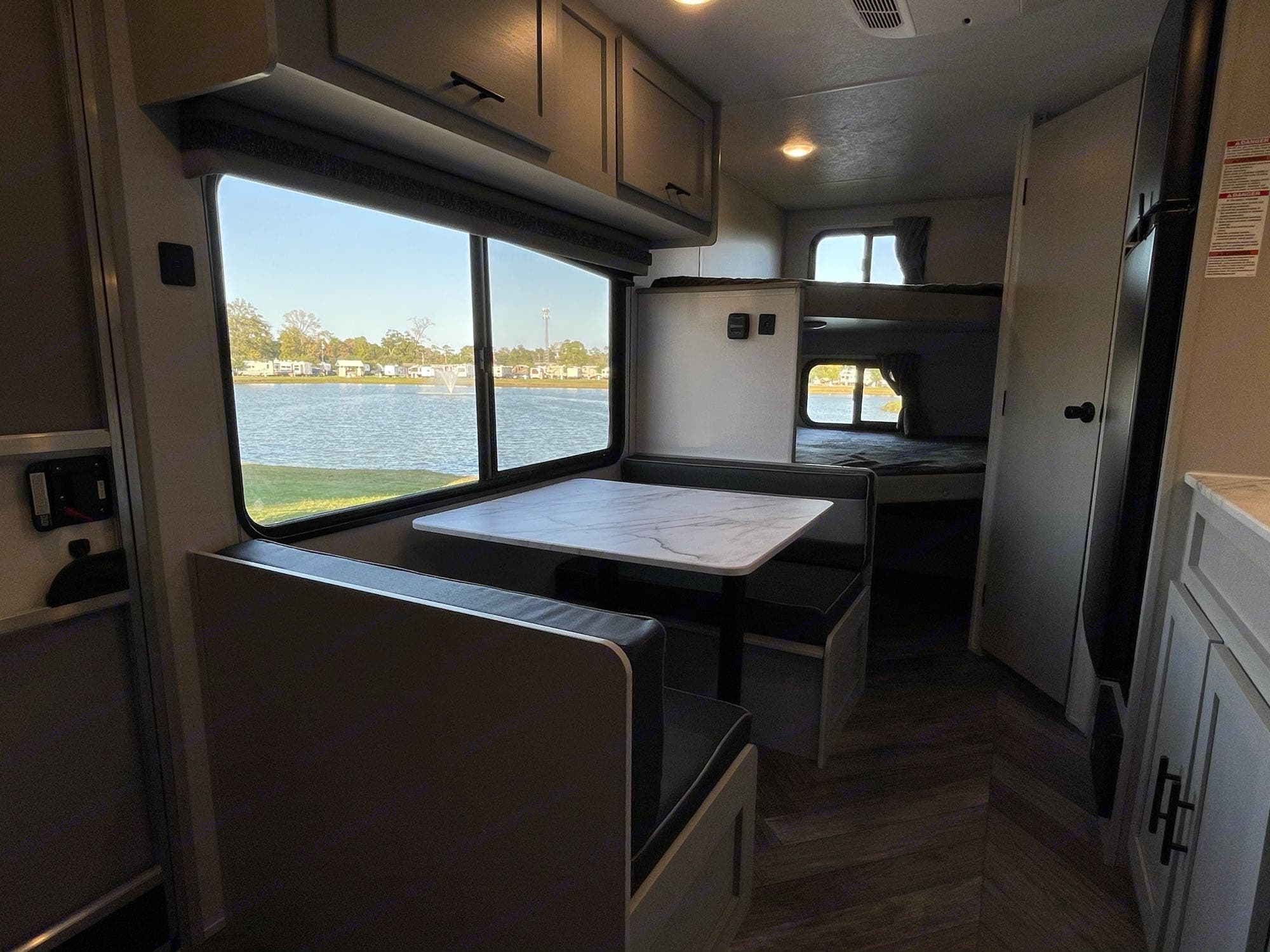 The views you will see right inside this RV are as good as it gets in a 22ft travel trailer. Forest River Salem 2021