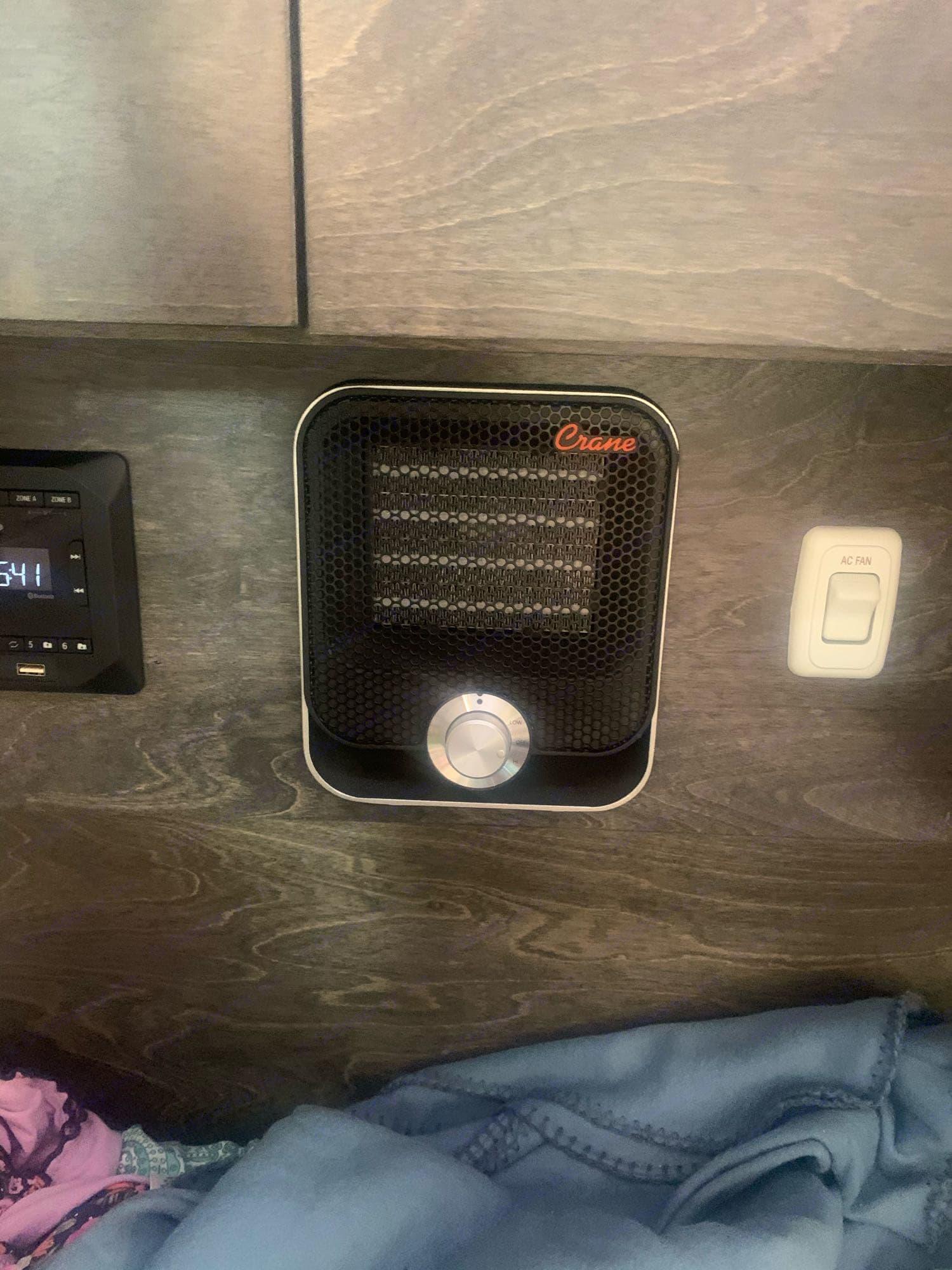 Remote control heat. NU Camp T@G Boondock 2021