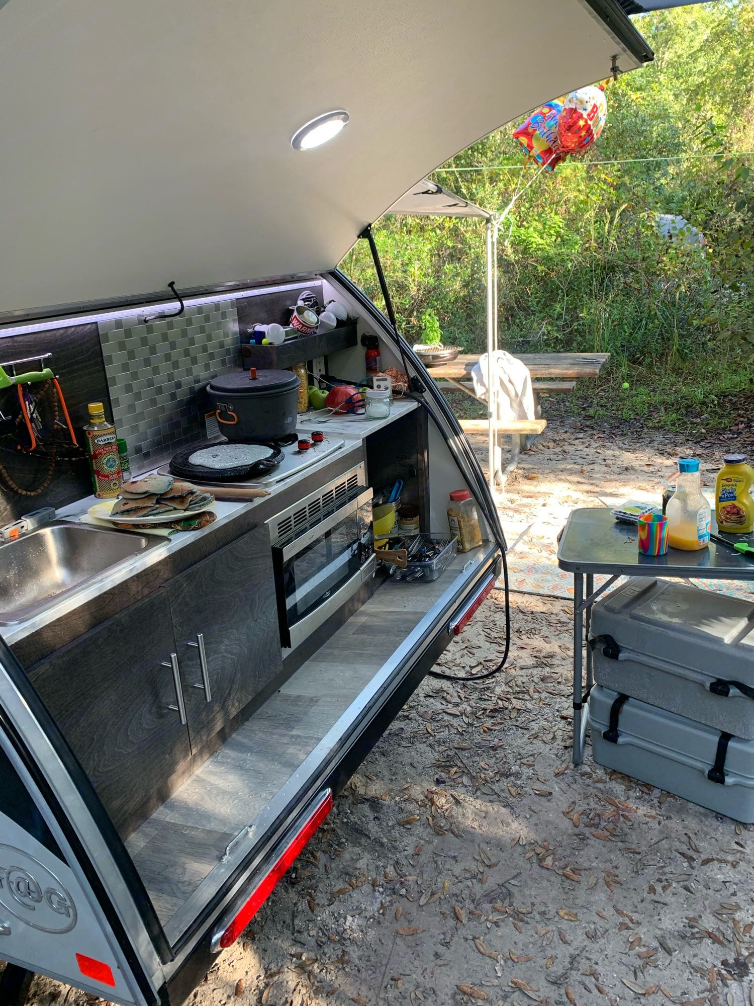 Breakfast Time!. NU Camp T@G Boondock 2021