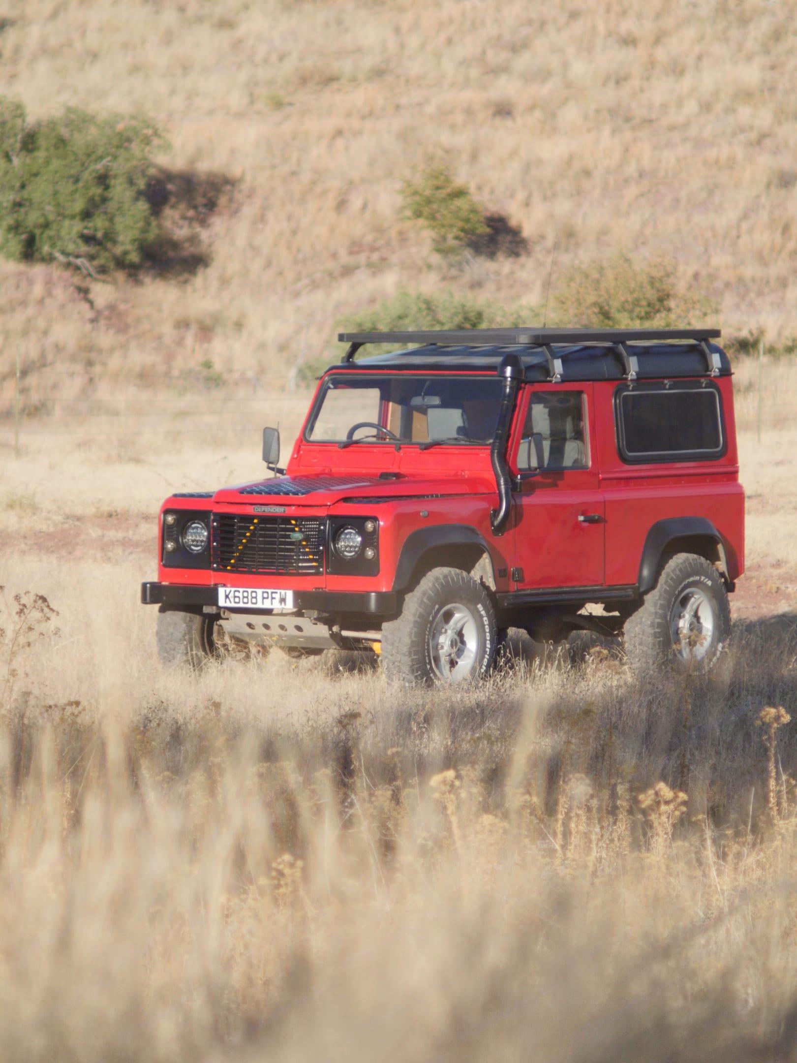 Land Rover Defender 90 1992