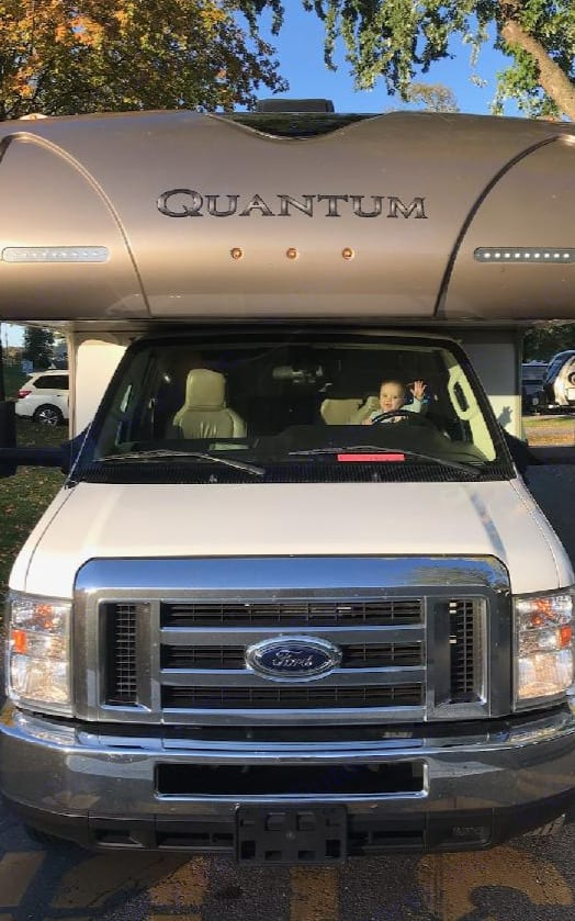 SO Easy to Drive, even a...........Well you get the picture!!     2020 Renters Photo. Thor Quantum 2017