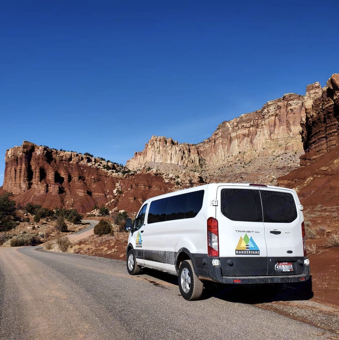 Easy to drive means you get capture all the pull outs, vistas and views!  . Ford Transit 2019