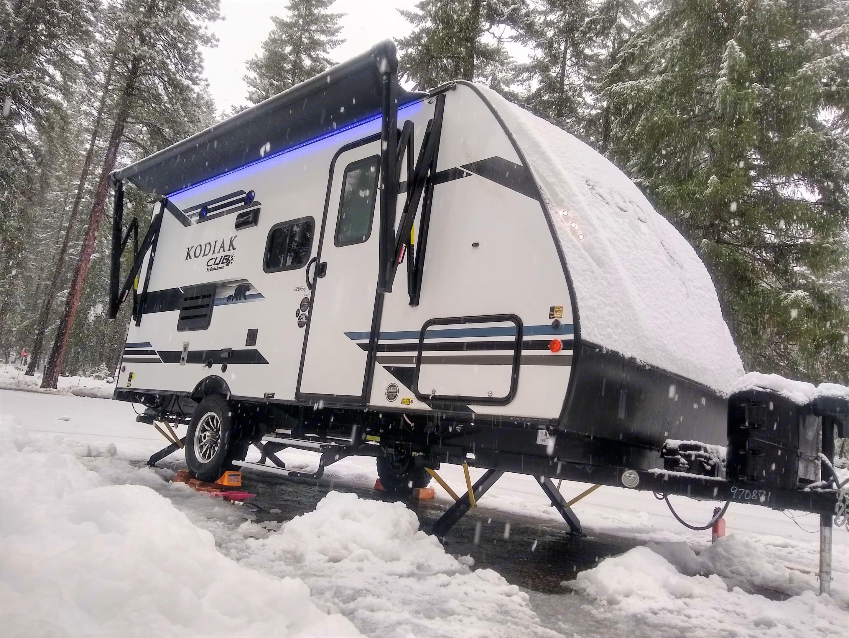 Snow-season capable!. Dutchmen Kodiak Cub 175BH 2021