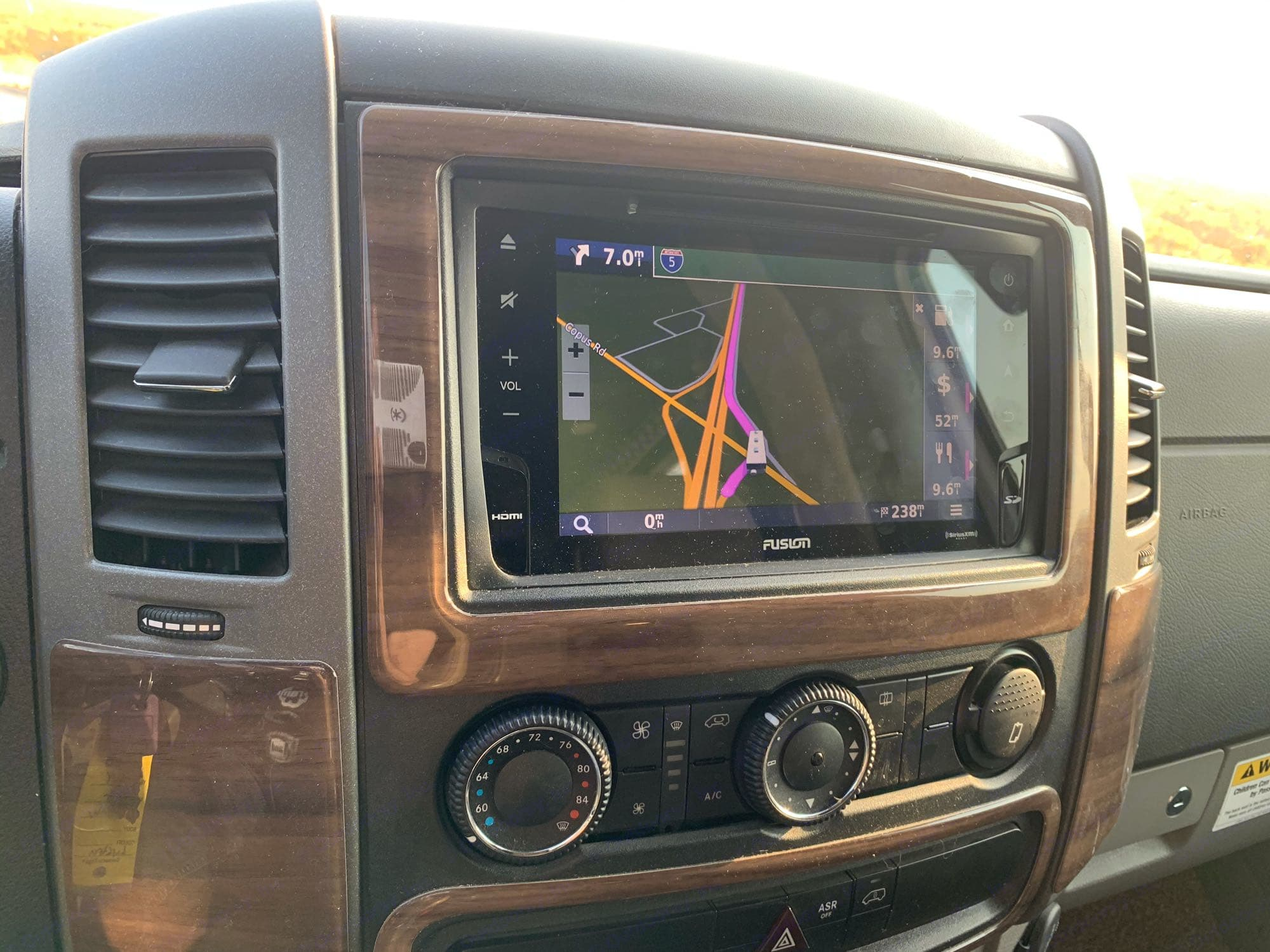 Navigation System. Thor Motor Coach Siesta 2018