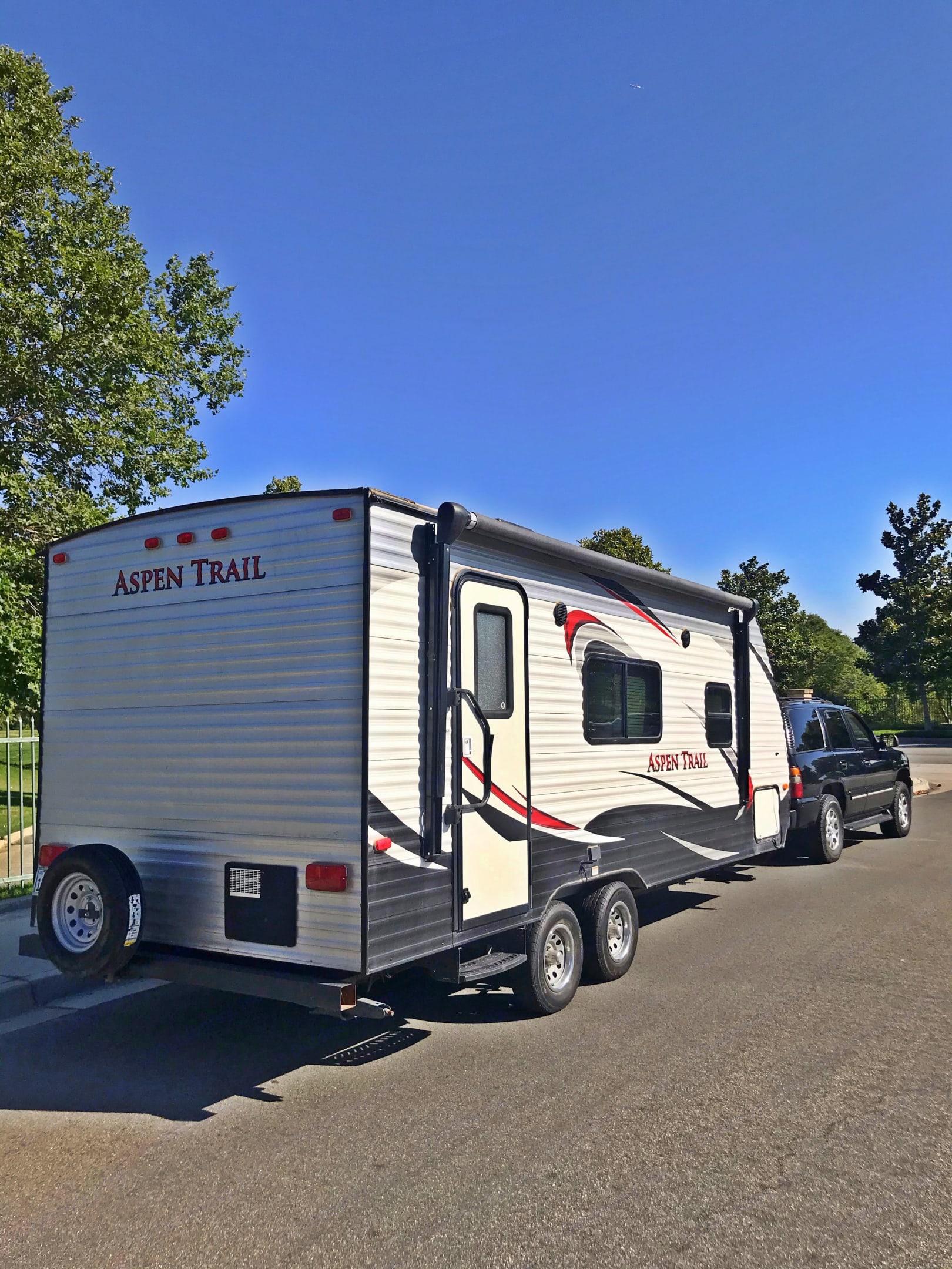 Best Fontana Travel Trailer Camper for Rent Rental. Dutchmen Aspen Trail 2015